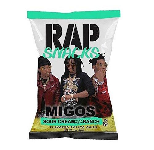 Rap Snacks Migos Sour Cream with a Dab of Ranch 2.75oz