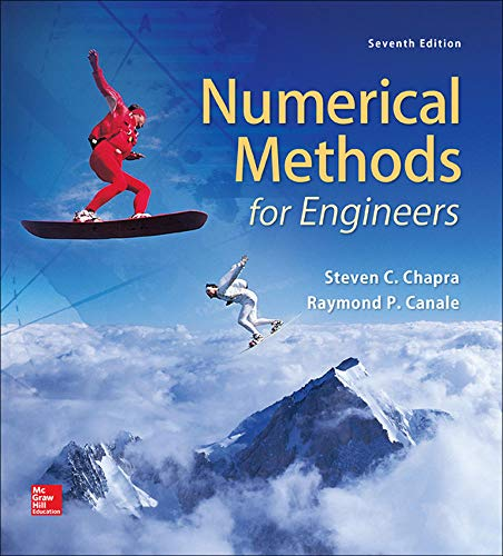 Compare Textbook Prices for Numerical Methods for Engineers 7 Edition ISBN 9780073397924 by Chapra, Steven,Canale, Raymond