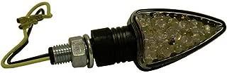 DMP Short Arrow LED Turn Signal (Black/Smoke Lens)