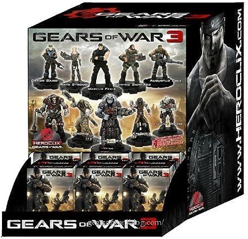 punto de venta en línea Gears of War Heroclix Heroclix Heroclix Counter Top Display of 24 Random Figures by NECA  punto de venta