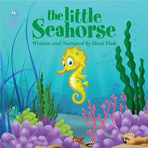The Little Seahorse audiobook cover art