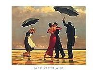(31.5x23.5) Jack Vettriano (The Singing Butler) Art Poster Print 【Creative Arts】 [並行輸入品]