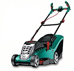 Bosch Lawnmower Rotak 37, grass catcher box 40 l (1400 W, Ergoflex system, cutting width 37 cm, cutting height 20-70 mm)