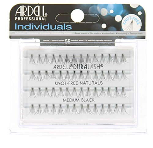 Ardell Duralash Naturals Flare Medium Black (56 Lashes) (6 Pack) by Ardell