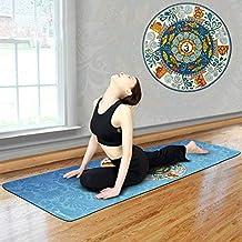 Gedrukte yogamat handdoek antislip draagbare reissyoga-dekens Pilates Oefening Fitness Yoga-handdoek Reishanddoek 183 * 63cm