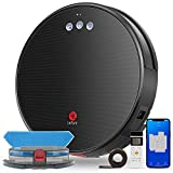 Lefant Robot Vacuum and Mop, Robotic Vacuum Cleaner with 2200Pa Suction, Smart Navigation, 150 Mins Runtime, Works with Alexa and Google Assistant, Self-Charging, Ideal for Pet Hair,Floor,Carpet(U180)