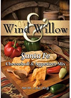 Wind and Willow Old Santa Fe Cheeseball Mix - 1.5 Ounce (4 Pack)