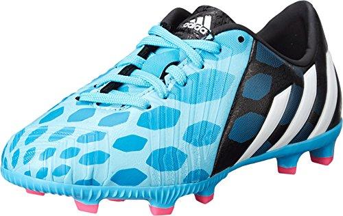 adidas Jungen Predator Absolado Instinct FG J Fußballschuhe Blau, Blau (Solar Blue/Core White/Black), 21 EU