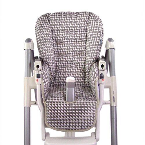 Aveanit Housse de rechange pour chaise haute Peg Perego Prima Pappa Diner Rouge Tissu imperm/éable