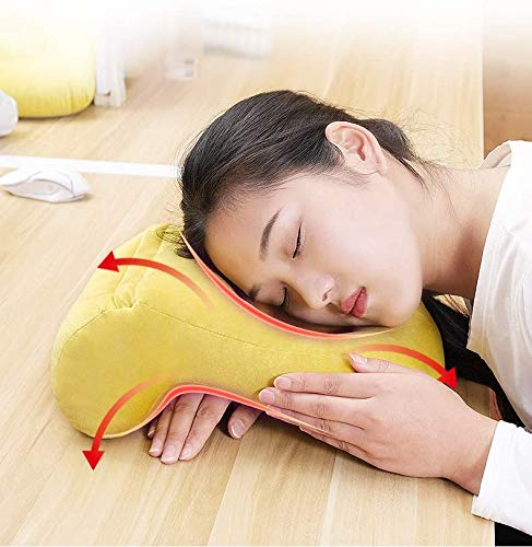 Wxnnx Almohada de cojín Boca Abajo para Uso Posterior a la cirugía Ocular - Almohada Facial para Dormir para Dormir Boca Abajo y Soporte para la Espalda - Cala extraíble