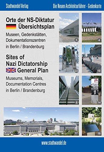 Orte der NS-Diktatur: Übersichtsplan