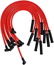 JDMSPEED New HEI Spark Plug Wires Set 90 To Straight Replacement For SBC BBC 350 383 400 454 V8…