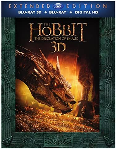 Hobbit The Desolation of Smaug Extended Edition Blu ray product image