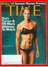 Time Magazine August 4 2008 Dara Torres Beijing '08 Summer Olympic Preview