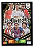 Panini Card Invencible Balón de Oro Adrenalyn XL 2018 2019 Messi Ramos