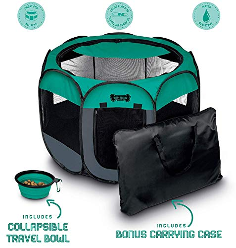Ruff 'n Ruffus Foldable Pet Playpen