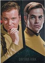 Star Trek TOS Captains Collection Bridge Crew Chase Card D1 Kirk Shatner Pine