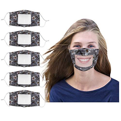Humeng 5PCS Smile Communicator Gesicht mit klarem Mund Ausdruck Lippenlesung Made in Germany