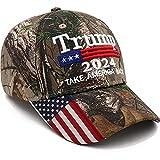 Trump 2024 Hat Donald Trump Hat Take America Back MAGA USA Embroidery Adjustable Baseball Cap Camo