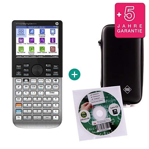 HP Streberpaket: HP Prime + Erweiterte Garantie + Lern-CD (auf Deutsch) + Schutztasche