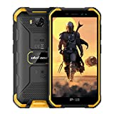 Ulefone Armor X6 (2020) Outdoor Smartphone ohne Vertrag Günstig, IP68 Robustes Handy, Android 9.0, 4000mAh Akku, Quad-Core 2GB + 16GB, 5 Zoll HD, 5 MP + 8 MP, DUAL SIM GPS Gesichts Entsperrung Orange