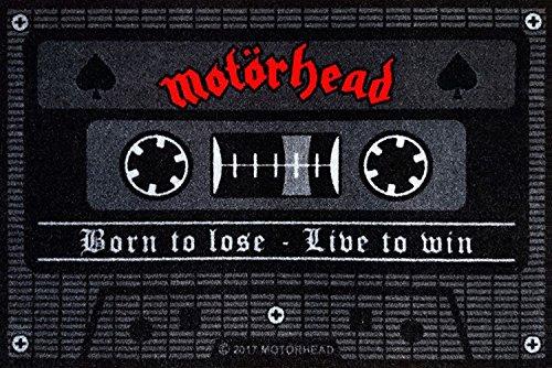 for-collectors-only Motörhead - Felpudo, diseño con texto 'Born to Lose'