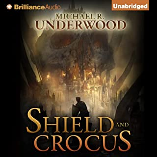 Shield and Crocus audiobook cover art