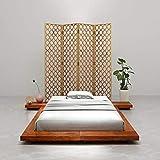 Susany Estructura para futón japonés Madera...