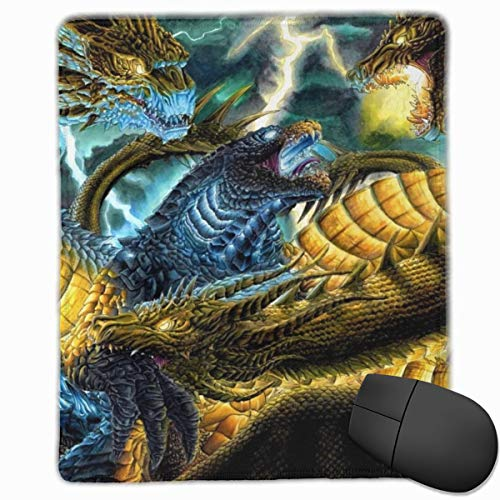 Godzilla King of The Monsters Mouse Pad for Laptop, Professional High-Performance Mouse Mat with Stitched Edges, Best Mousepad for Desktop - 9.8x11.8 in