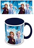 La Reine des Neiges MGC25516 2 - Taza de cerámica (315 ml/11 oz (espíritu director), 315 ml