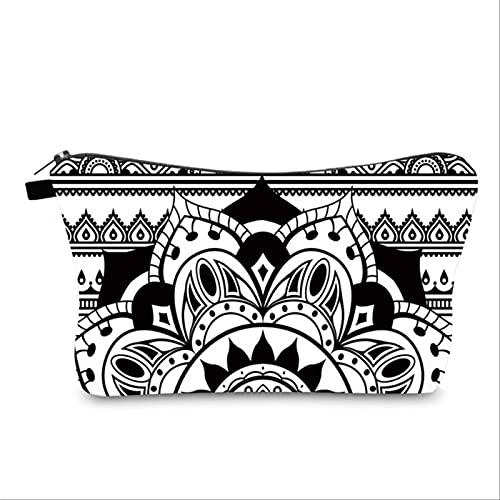 MEASR Bolsa De Almacenamiento De Viaje Portátil Mandala, Artículos De Tocador, Bolsa De Cosméticos Impermeable, Adecuada para Tocador De Dormitorio