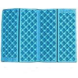 Ouneed® Sitzkissen Stuhlkissen , Bewegliche im Freien faltbare Schaum Sitzkissen Wasserdichte Stuhlkissen Camping Garten (Blau)