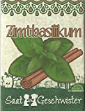 Die Stadtgärtner Zimt-Basilikum-Saatgut | Samen für den Garten, Balkon oder Terrasse | zum Selbstpflanzen