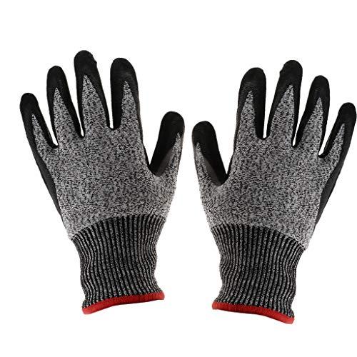 D DOLITY Gants de Protection Industriel Protecteur Vêtement Gants Anti-dérapant Anti-coupure