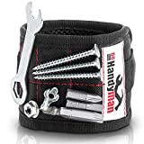 Go Handyman Magnetic Wristband with Strong Magnets for Holding Screws, Nails, Drill Bits - Best Unique Tool Gift for diy – Convenient Solution for Professional and Home Use
