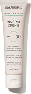 MDSolarSciences Mineral Crème SPF 50 Sunscreen - Oil-Free, Water-Resistant, Lightweight - Mineral Broad Spectrum SPF Absor...