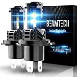 beamtech h4 led bulb with csp chips xenon white conversion fanless all in one plug n play replacement low fog light