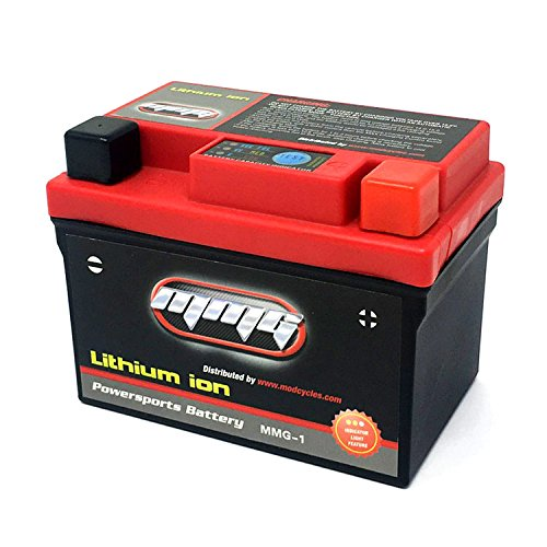MMG 12V Lithium Ion Battery Ultra Lightweight and High Power Motorcycle Replacement for YTX4L-BS, YB4L-B, CB4L-B, GM4-3B and other 4L-B 4Amp