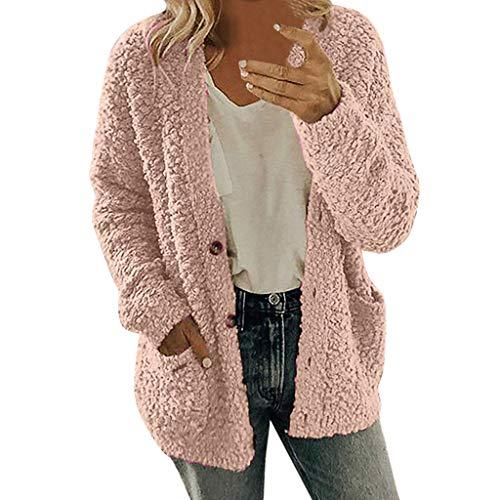 Dasongff gebreide jas voor dames, gebreid gebreide mantel, gebreid cardigan voor de herfst en winter, casual, open voorkant, sweater, cardigan cover, up, patchwork outwear