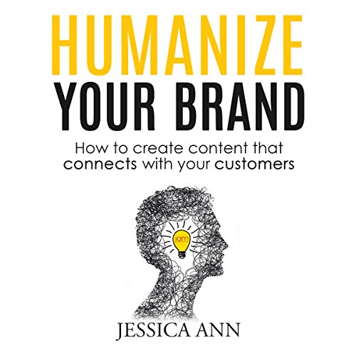 Humanize Your Brand audiobook cover art
