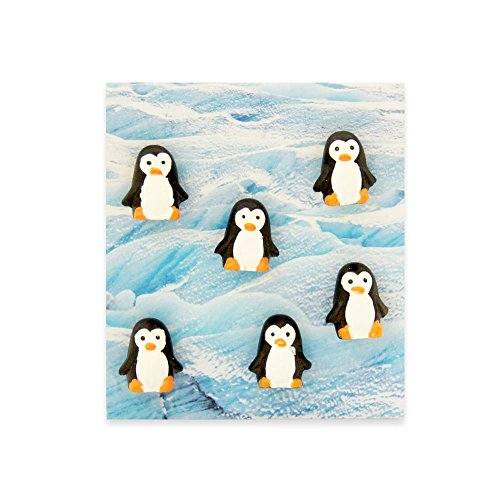 Trendform Büromagnete im Tier-Stil, Pinguin, 6 Stück