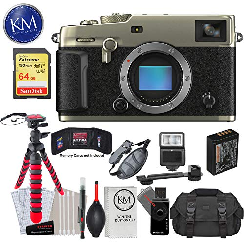 Find Discount Fujifilm X-Pro3 Mirrorless Digital Camera (Body Only, Dura Silver) with 64GB Extreme S...