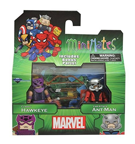 Marvel Minimates Best of Series 3: Hawkeye and Ant-Man Mini Figurs