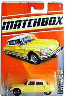 Matchbox 2011 Heritage Classics 1968 Citroen DS Yellow and White