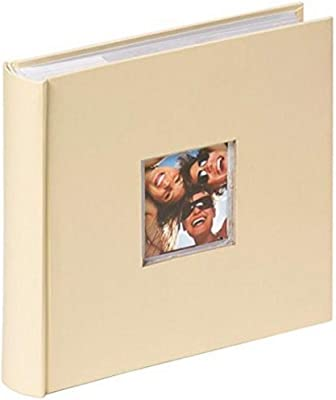 Walther Design, Álbum foto, color beige (creme), 200 fotos, 10 x 15 cm