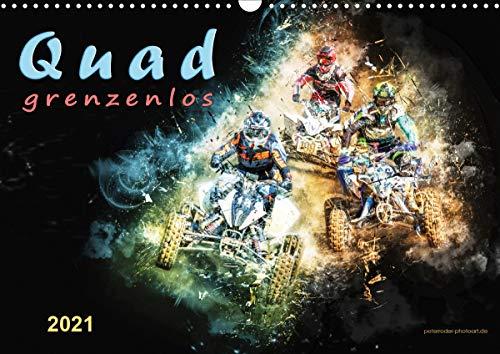 Quad grenzenlos (Wandkalender 2021 DIN A3 quer)