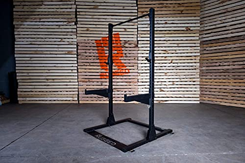 Rugged Commercial Half Rack Y120, 1000 lb Capacity, Heavy-Duty 2×3 11-Gauge Steel