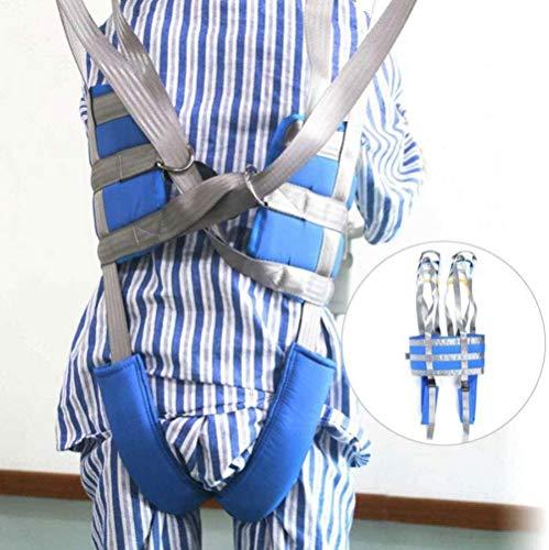 DLLY Voll Karosserie Mesh Patientenlifter Sling Ausrüstung Mit Beinschlaufen Pflegesicherheits Bariatrischer Handicap-Hebekommodenschleuder Medizinischer Transfergurt