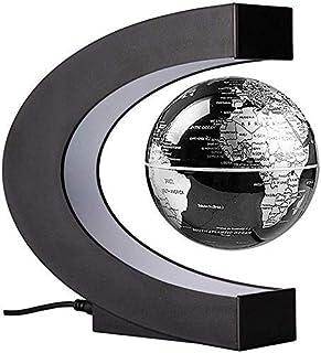 Flytande magnetisk levitation Globe Light World Map Ball Lamp Lighting Office Heminredning Terrestrial Globe Novelty Lamp ...