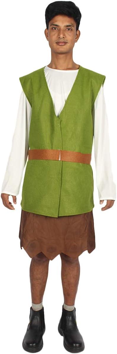 HPO Price reduction Men's Cosplay Adventurous Elf HC- Dark Black Green Costume Department store